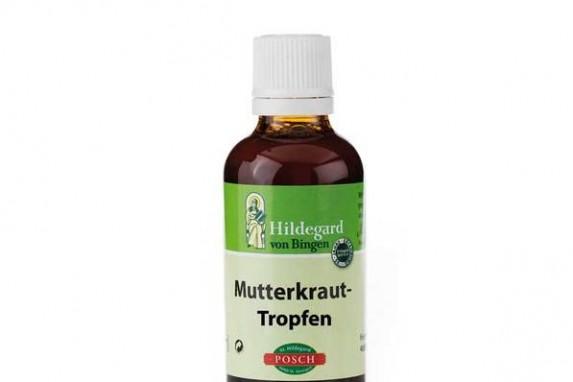 Mutterkraut-Tropfen, Natürliche Produkte